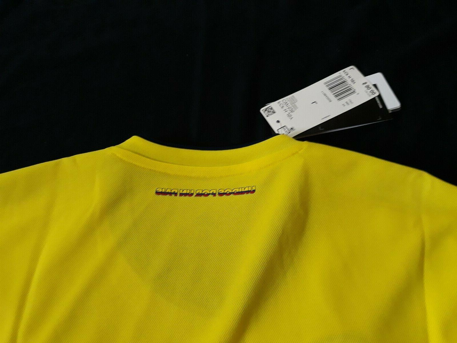Colombia Adidas Home Jersey Model Retail New Tags