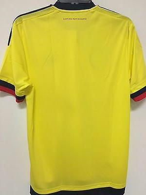 adidas Colombia 2015 2016 Home Soccer Football Jersey