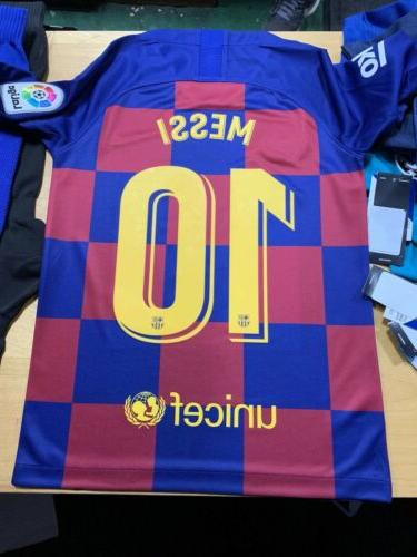 Nike Fc Barcelona Jersey #10 Large Only