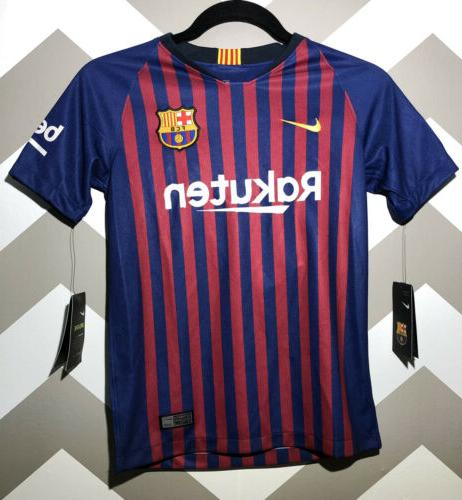 fc barcelona lionel messi 2018 jersey youth