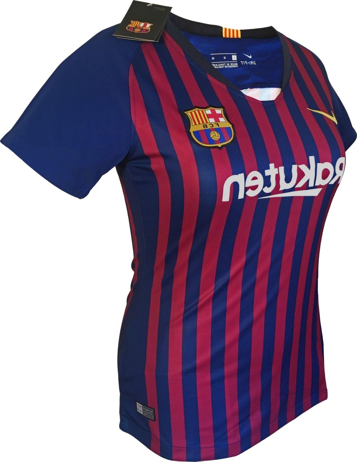 FC Soccer Shirt #10 Messi 2019 New