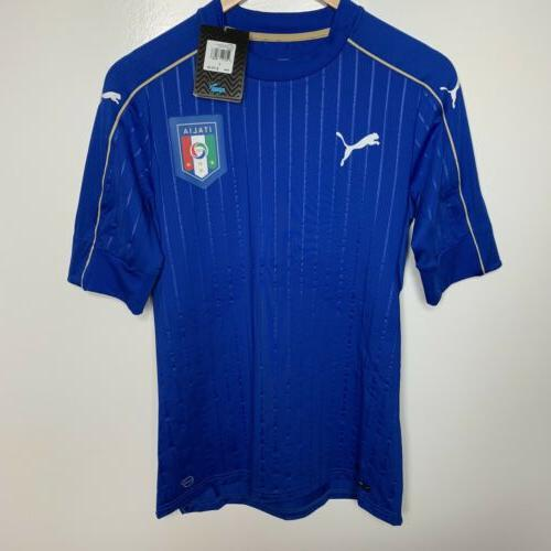 figc italy italia authentic soccer jersey size