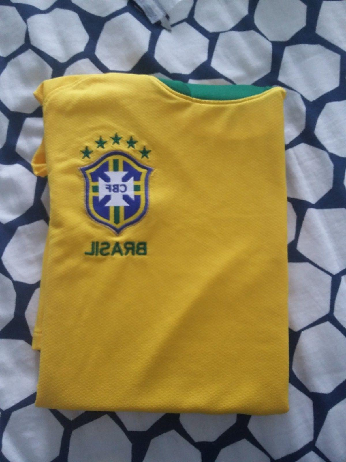 *Free Shipping*Brazil jersey 2010/11 Home official soccer fo