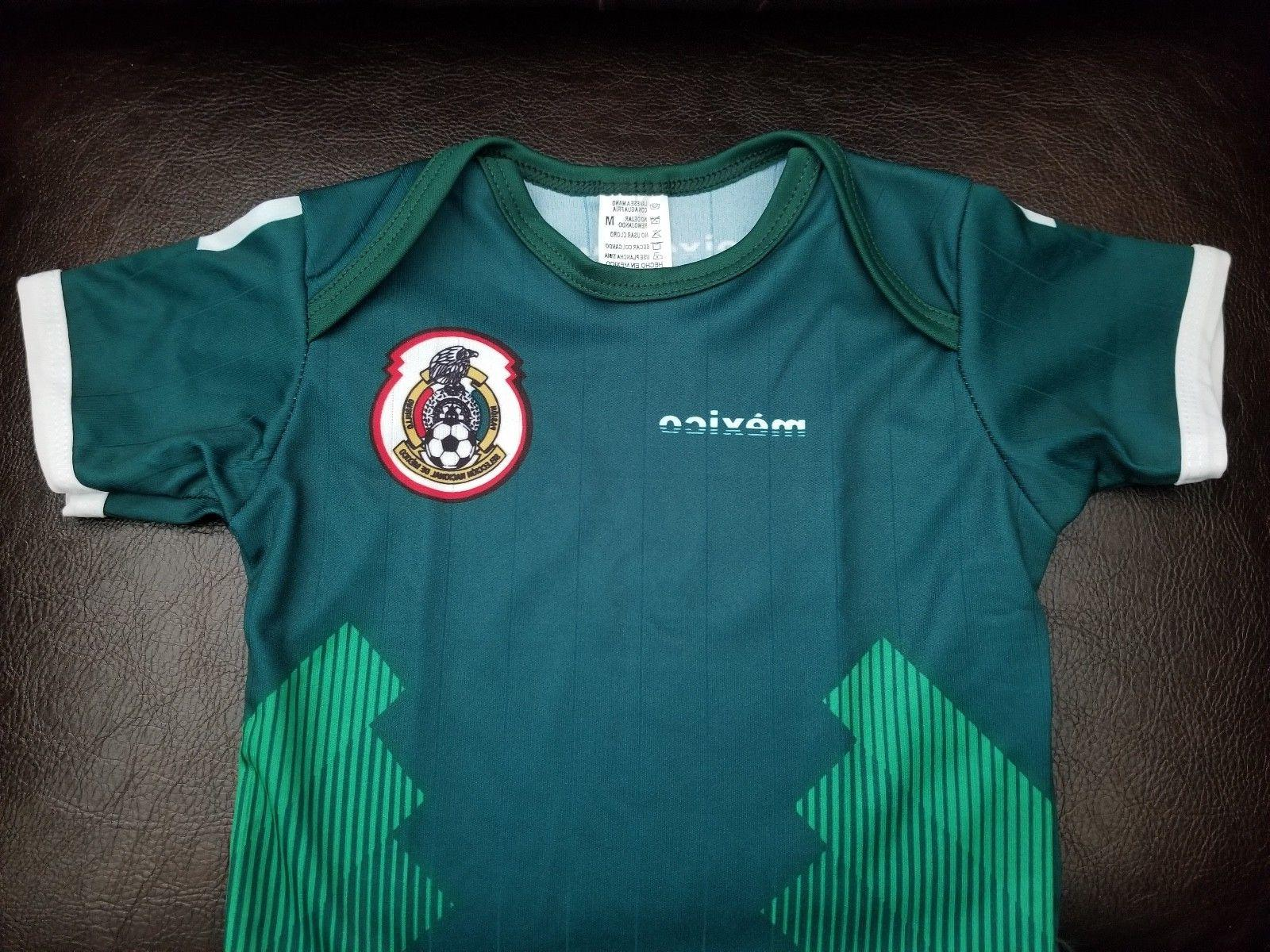 Green Mexico Soccer Jersey Pañalero 2018 World Cup Home