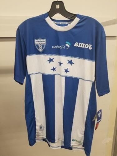 Joma Honduras Jersey FICOHSA 12 Medium soccer football