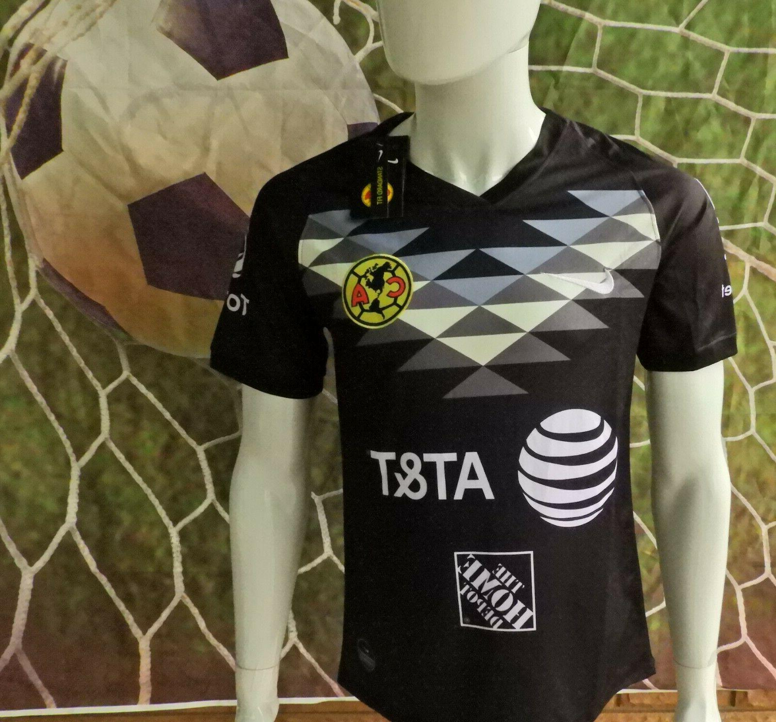 liga mx club america black jersey 2019
