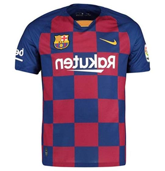 Lionel Messi #10 Barcelona Soccer Home Jersey 4XL