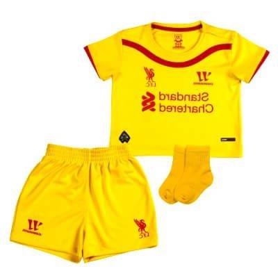 hot sale online 841c6 e5434 Liverpool Baby Away Kit 2014 â€