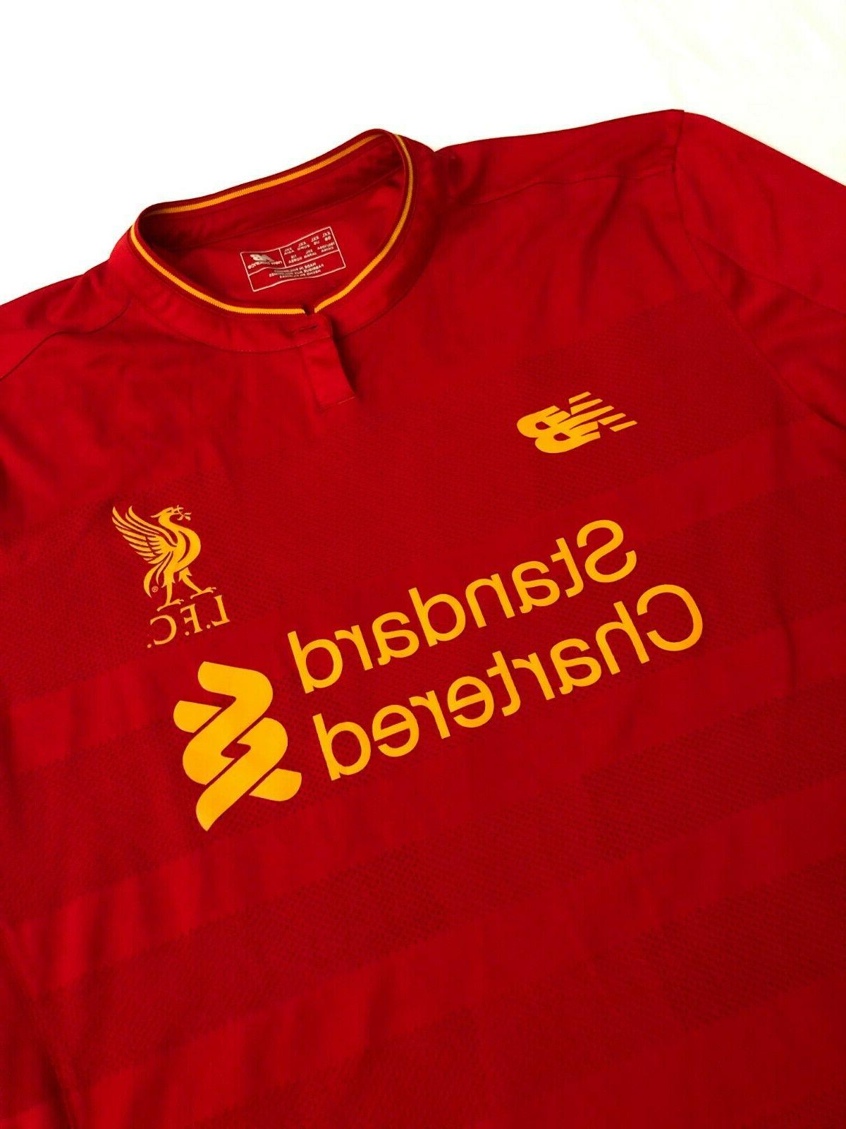 Liverpool Football Club League Red New Jersey