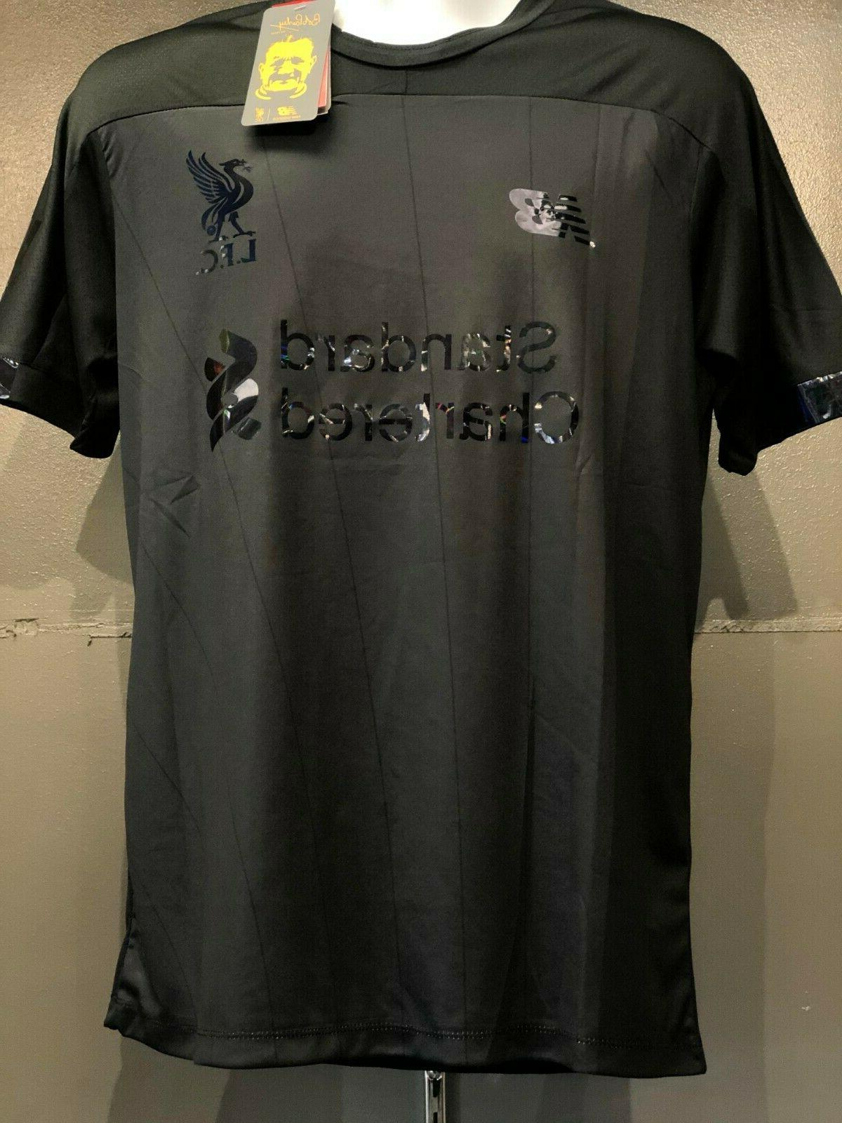 liverpool men soccer jersey blackout 19 20