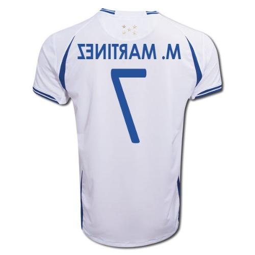 hot sales d52a5 22bb1 Joma MARIO MARTINEZ #7 Honduras Home Jersey