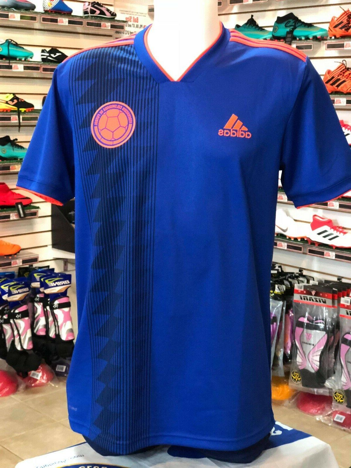 men s colombia away soccer jersey 2018