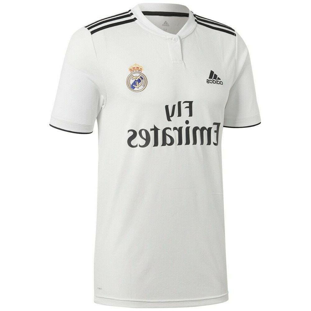 men s soccer real madrid home jersey