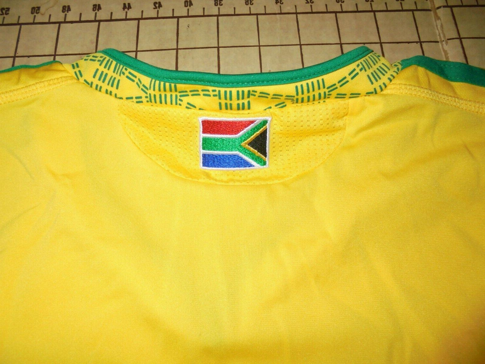MENS YELLOW/GREEN SOUTH AFRICA ADIDAS SOCCER -