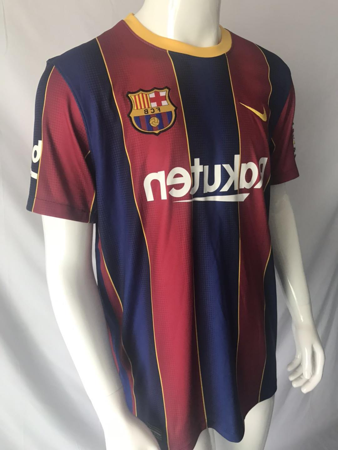 Messi Barcelona 2020-2021 Home Jersey