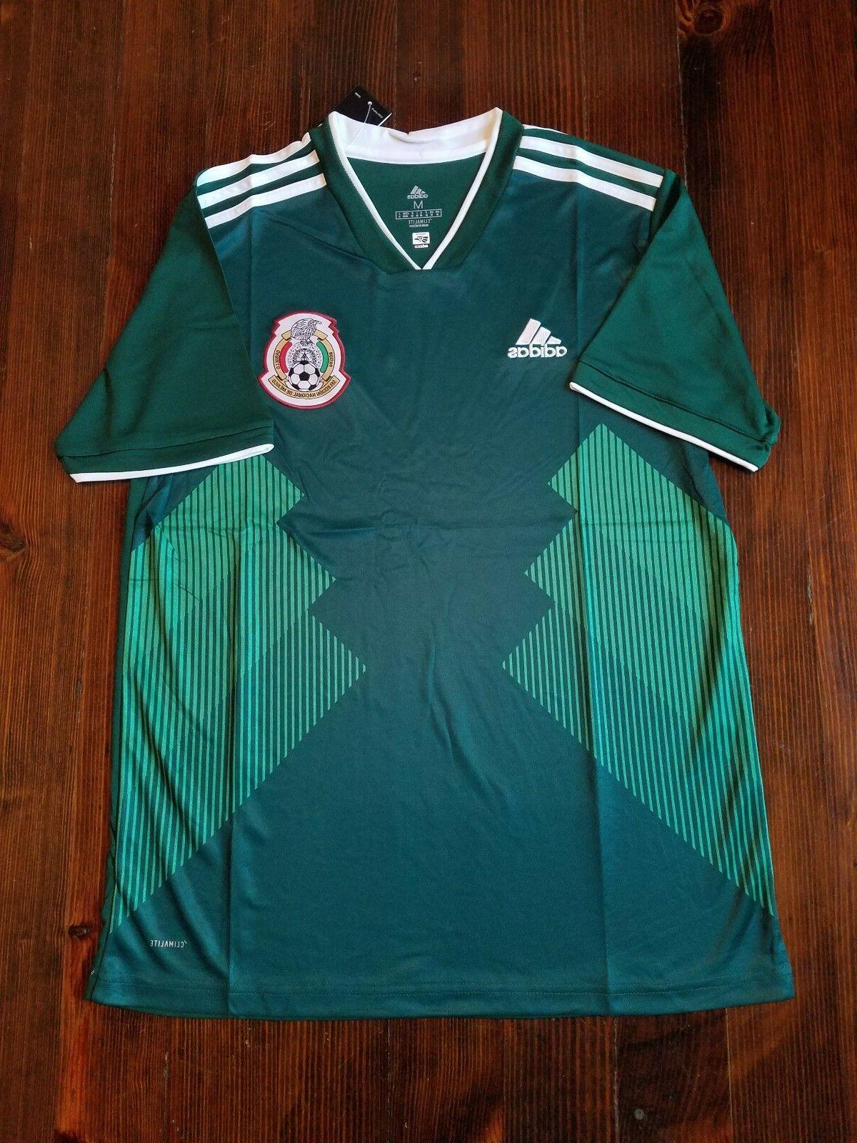 Mexico Home Soccer Jersey 2018 all sizes