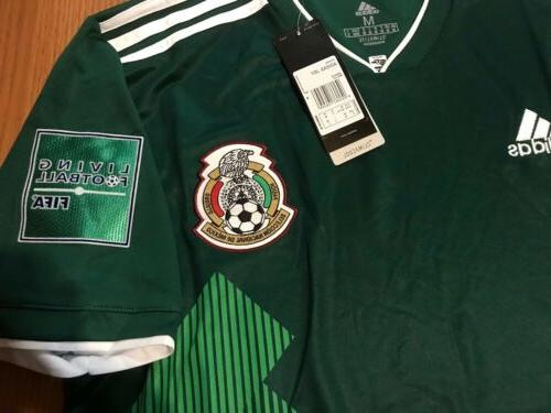 Mexico home Jersey SZ/ RUSSIA 2018 Final Sale🔥