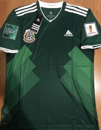 mexico home jersey sz 2xl fifa russia
