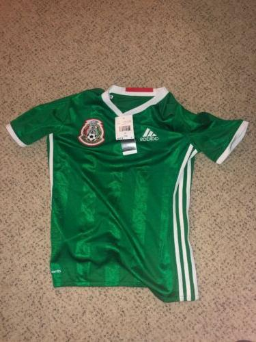 Mexico National Jersey Adidas ClimaCool Youth Size