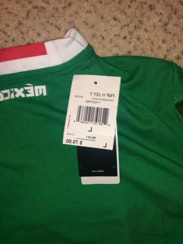 Mexico Jersey Adidas ClimaCool -Green- Youth Size