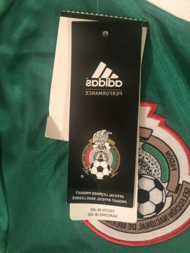 Mexico Soccer Jersey Youth Size