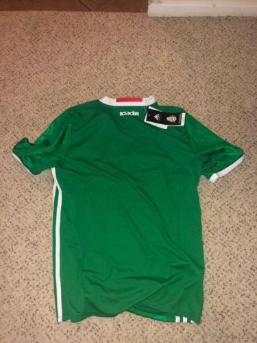Mexico Home Jersey Adidas ClimaCool Youth
