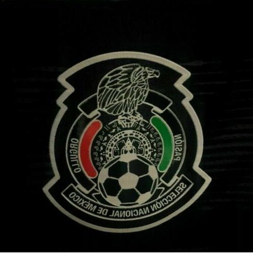 adidas Mexico Official Home Gold Football Jersey