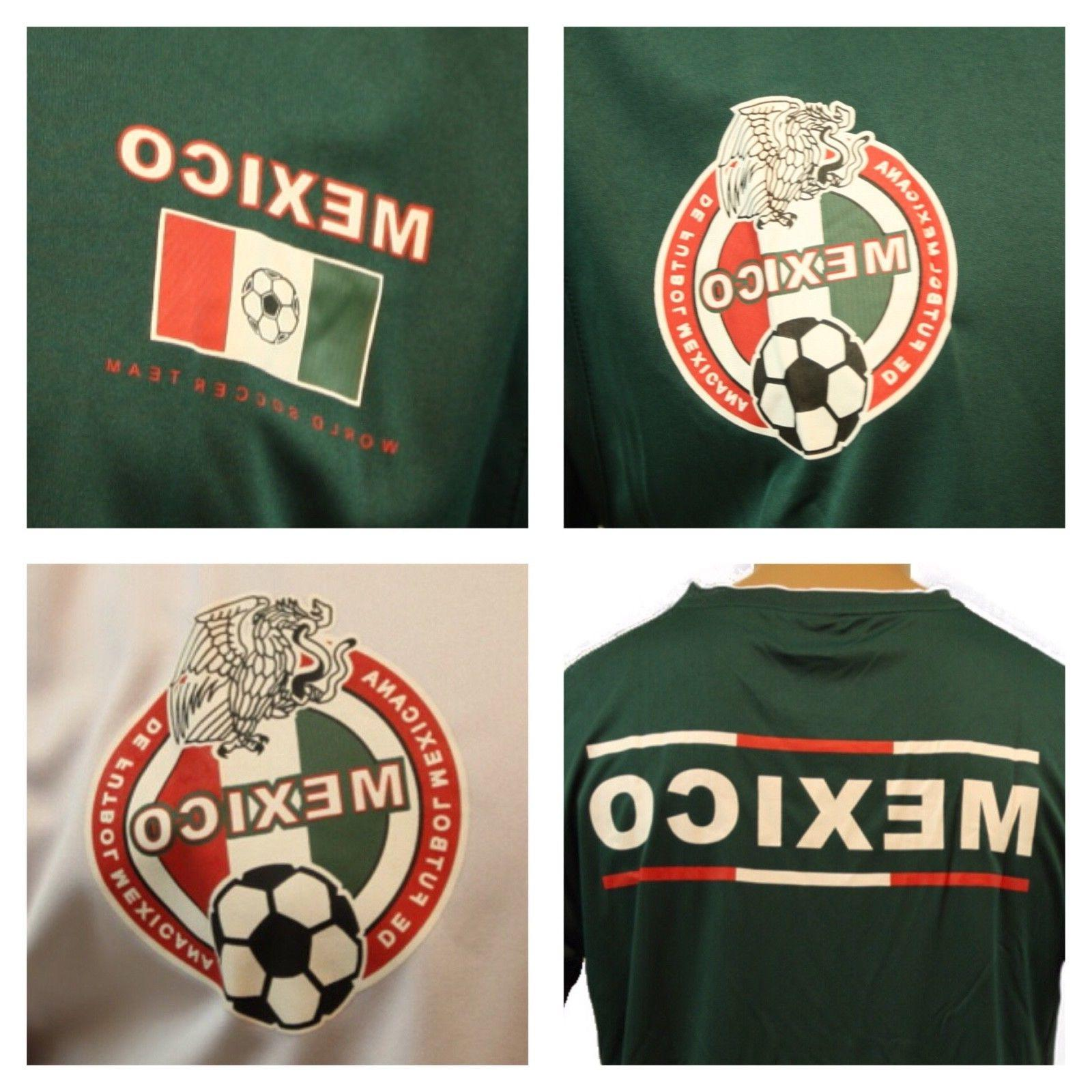 Mexico World Uniform T-Shirt Men Sports Team