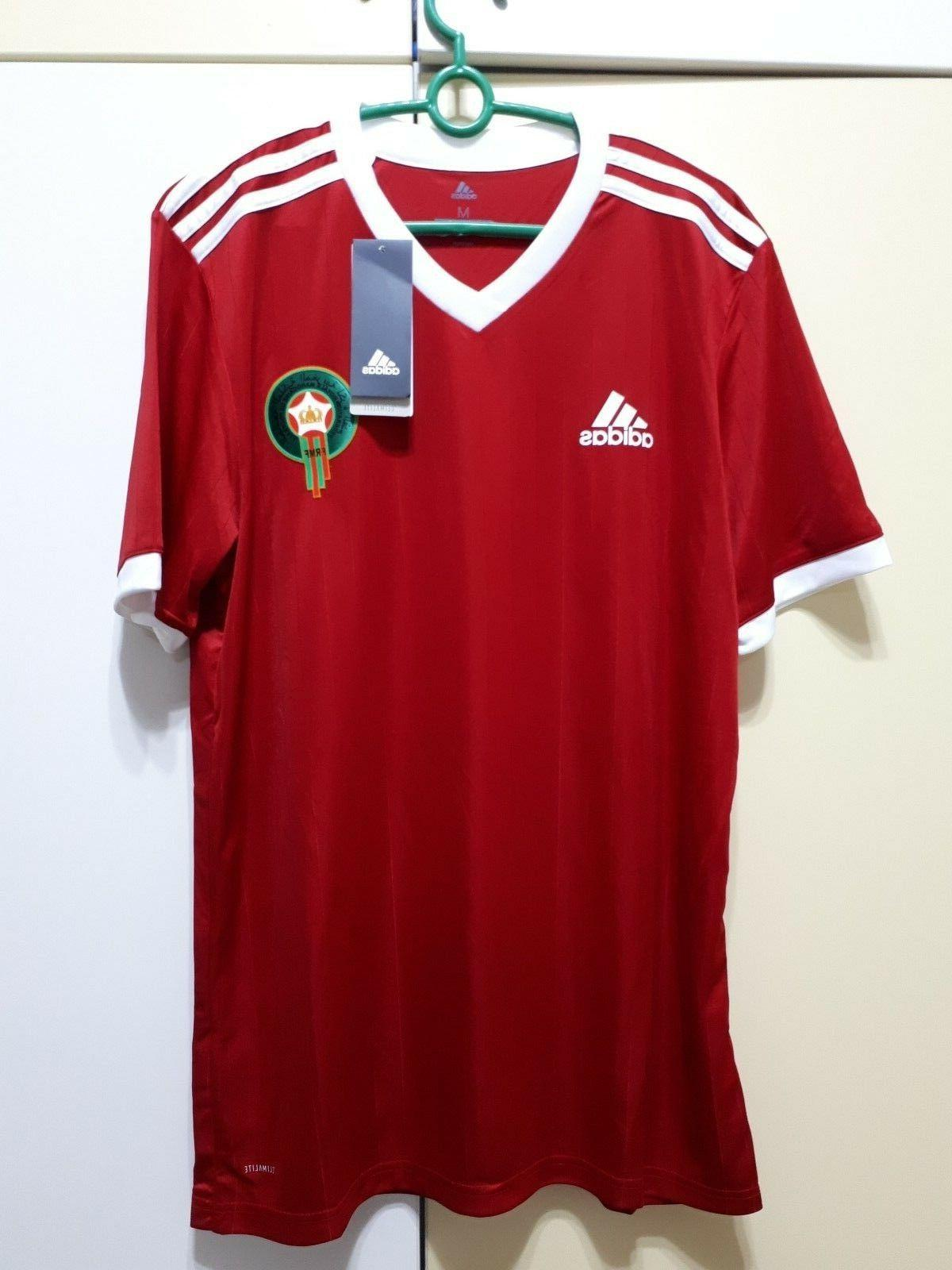 morocco national team football soccer home jersey
