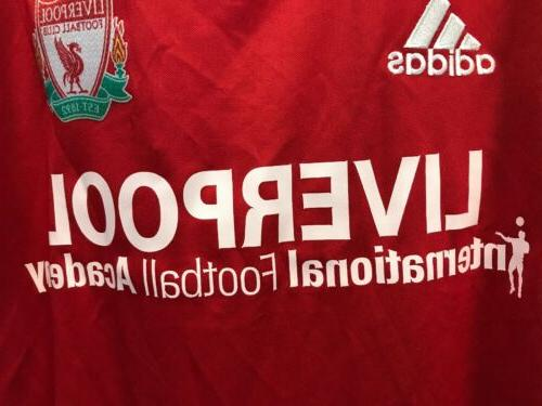 Polyester Liverpool Soccer Color Red Size M