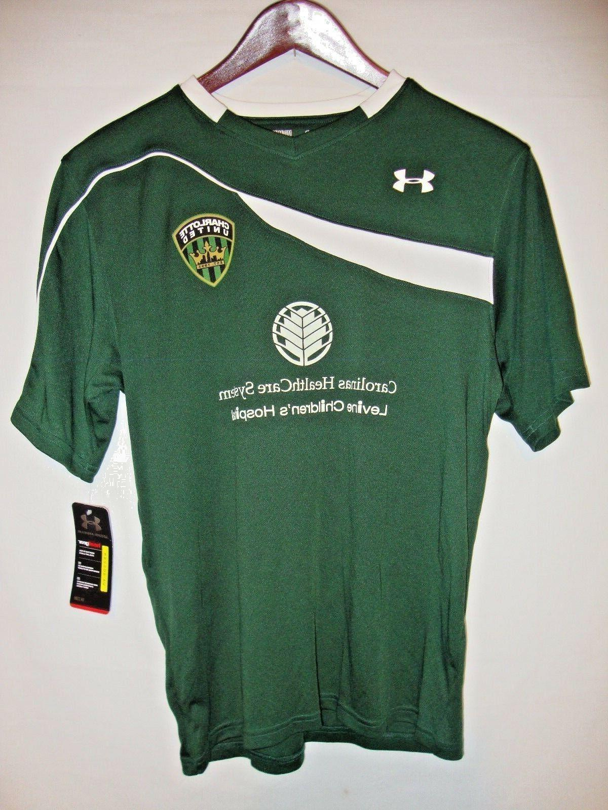 new chaos mens green soccer jersey charlotte