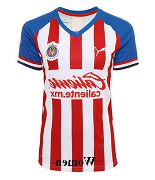 Chivas Home 2019-2020 Men/Women Futbol Football