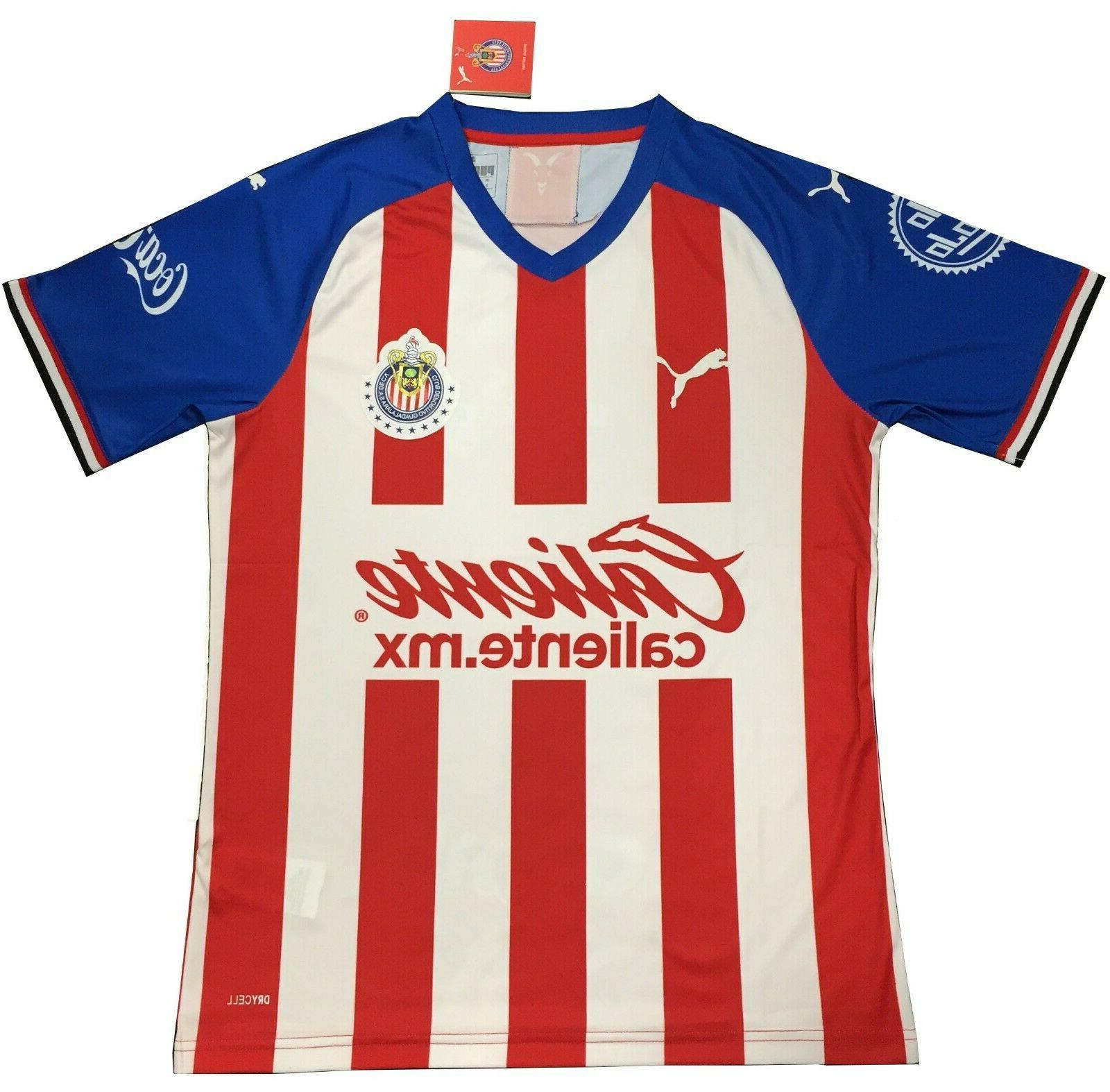 Chivas Jersey 2019-2020 Men/Women Futbol Football Jersey