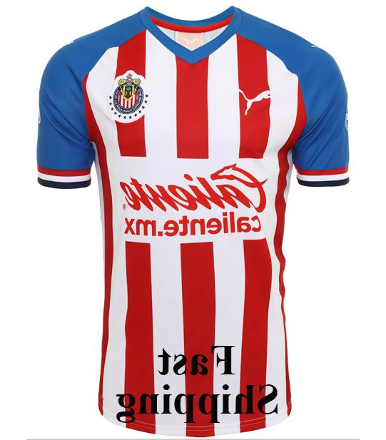 Chivas Home Jersey 2019-2020 Men/Women Size Futbol Football Jersey