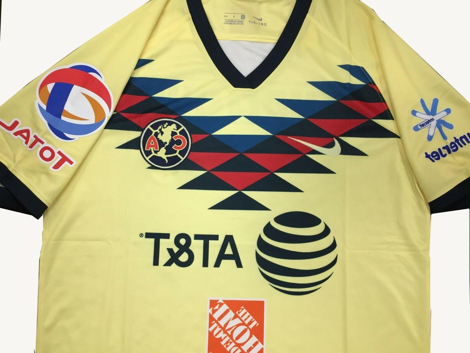 Club America Home Jersey 2019-2020 Size Football