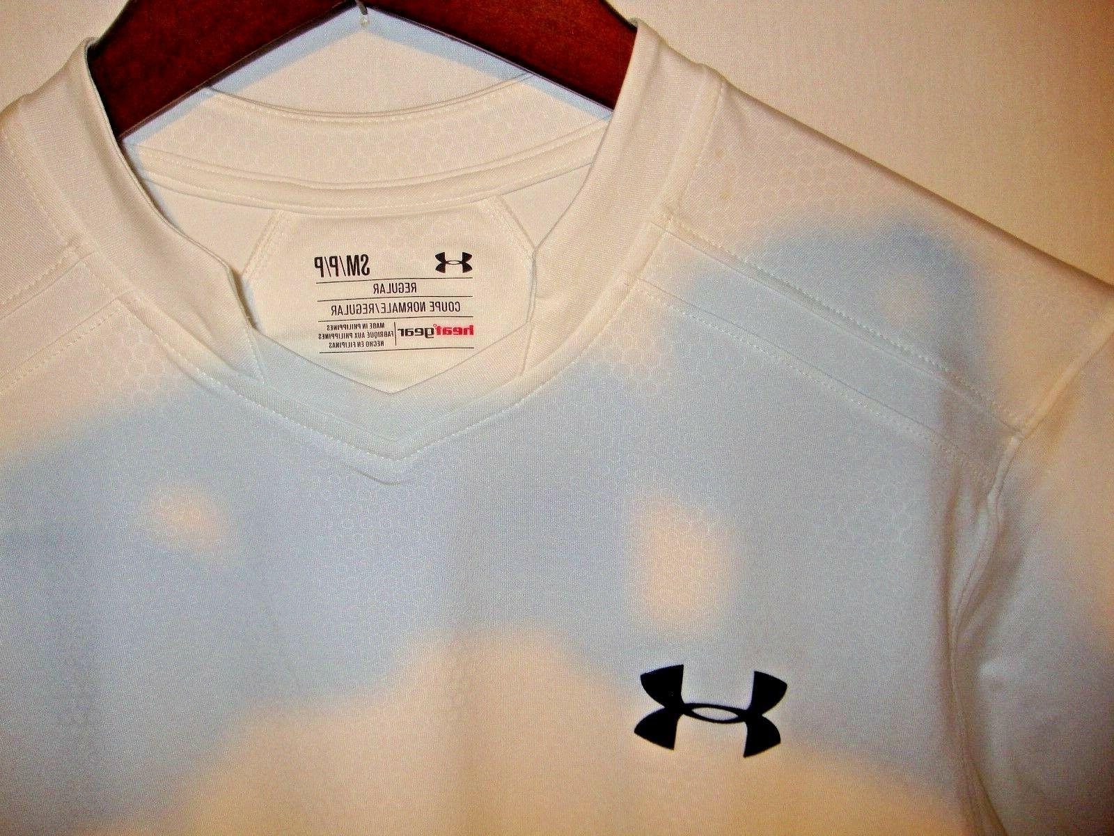 NEW Under Highlight Mens Jersey White