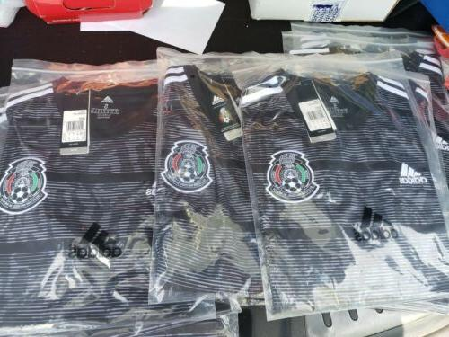 Soccer Seleccion Mexicana BLACK S-XXL