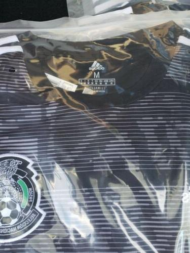 NEW Mexico Soccer Jersey Copa Seleccion Mexicana BLACK