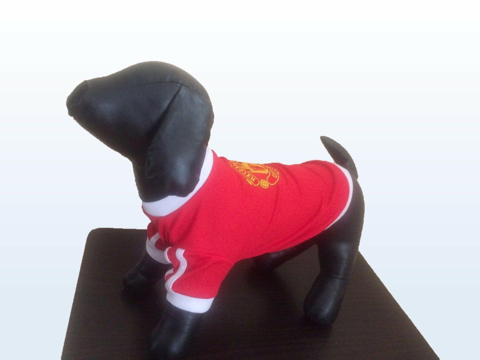 New Pet Apparel Fc Manchester United Dog Jersey