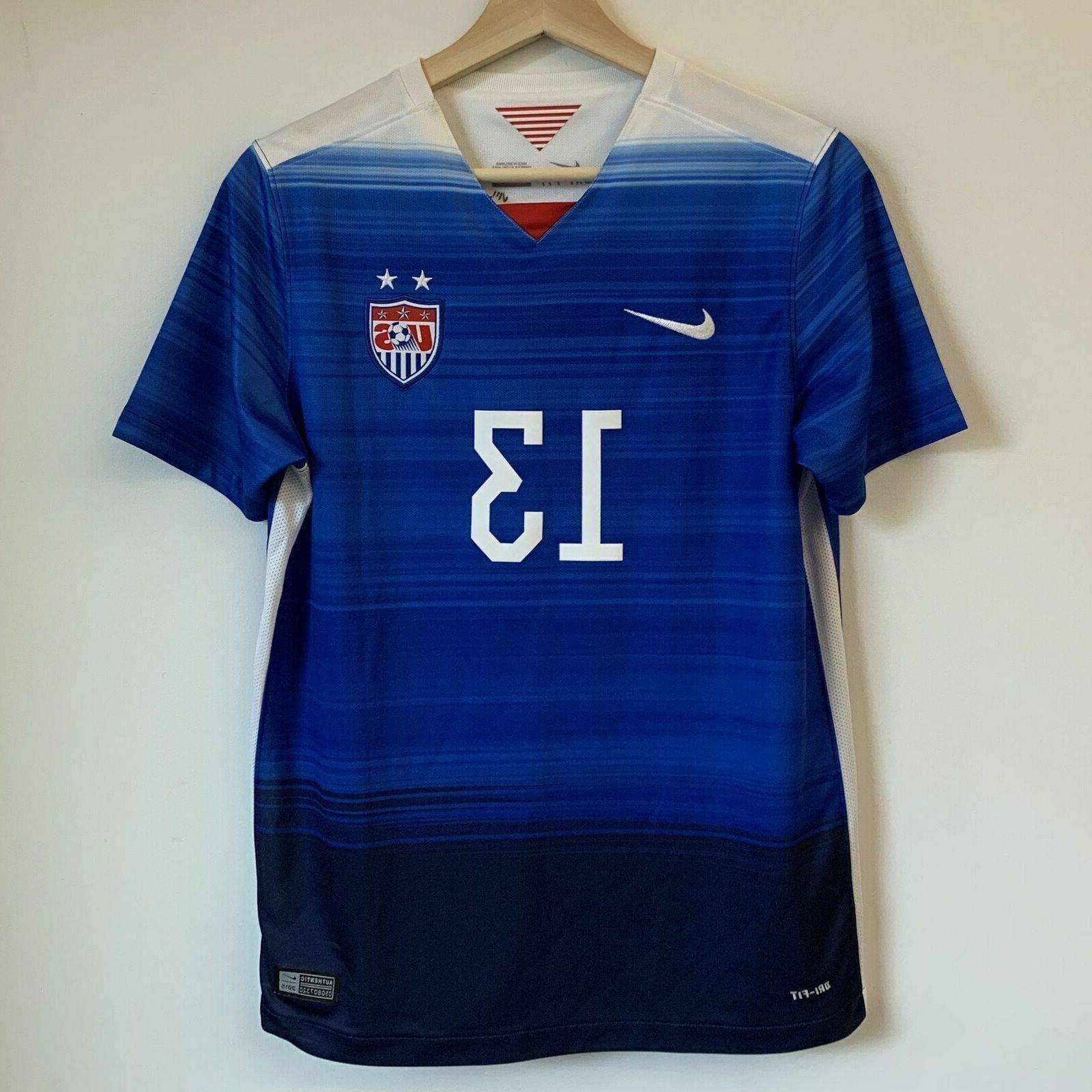 New US Soccer 2015 Cup Youth 22 Nike Morgan 13