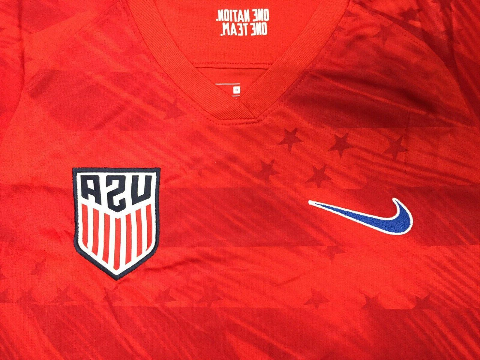 NEW USA JERSEY RED AWAY