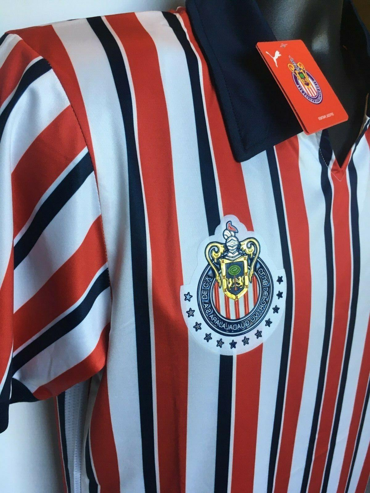 NWT Chivas Home World Jersey Football Men Shirt