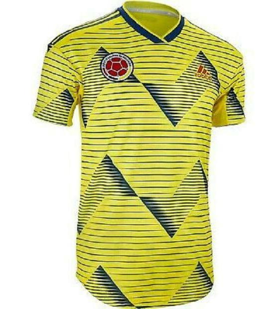 nwt colombia 2019 home soccer football jersey