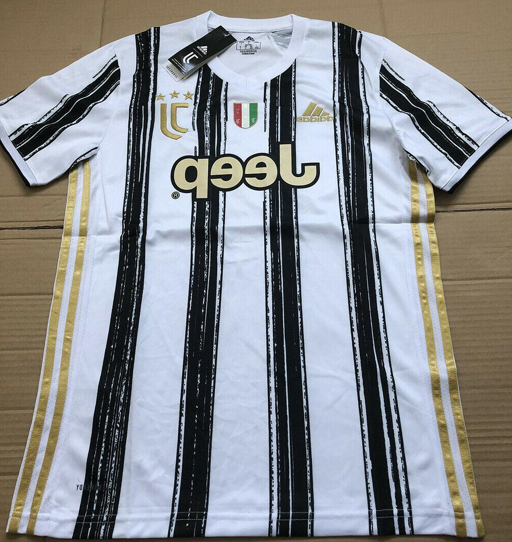 nwt juventus 20 21 home soccer jersey