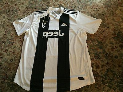 nwt juventus soccer football club jersey adult