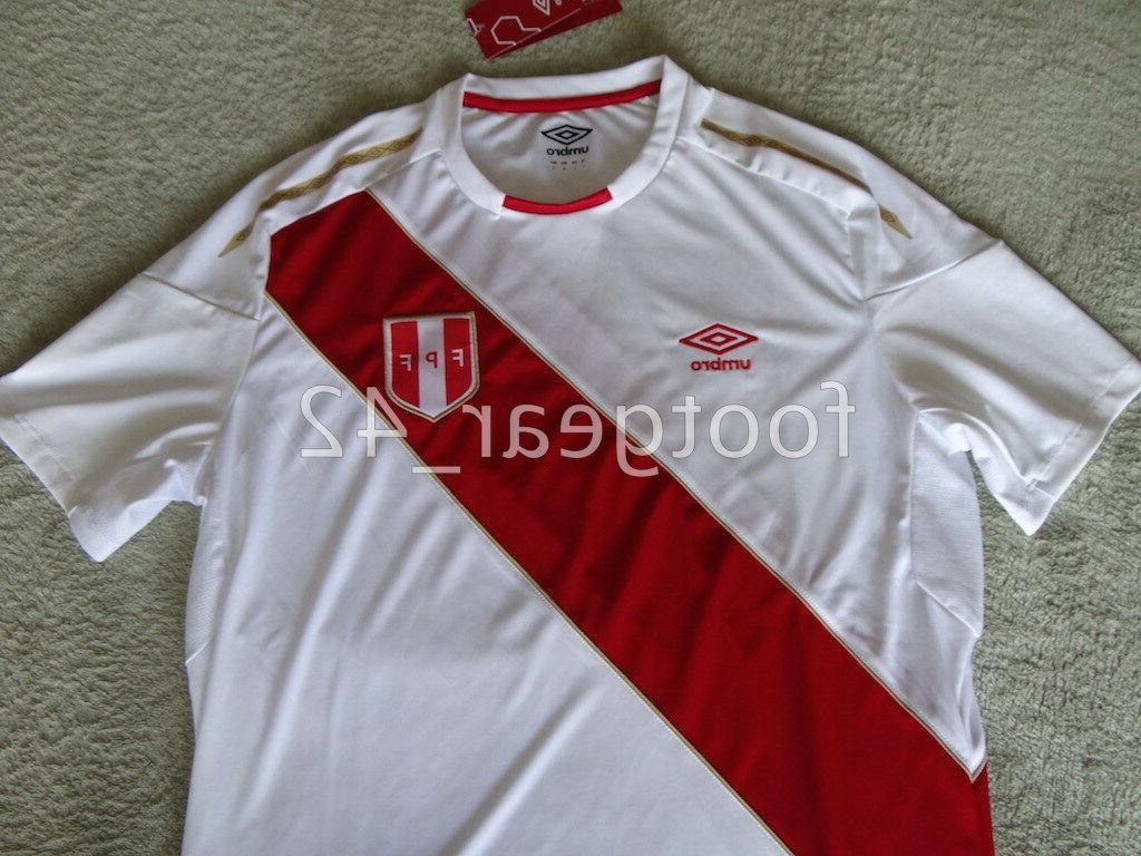Official Authentic Peru Soccer Russia Cup