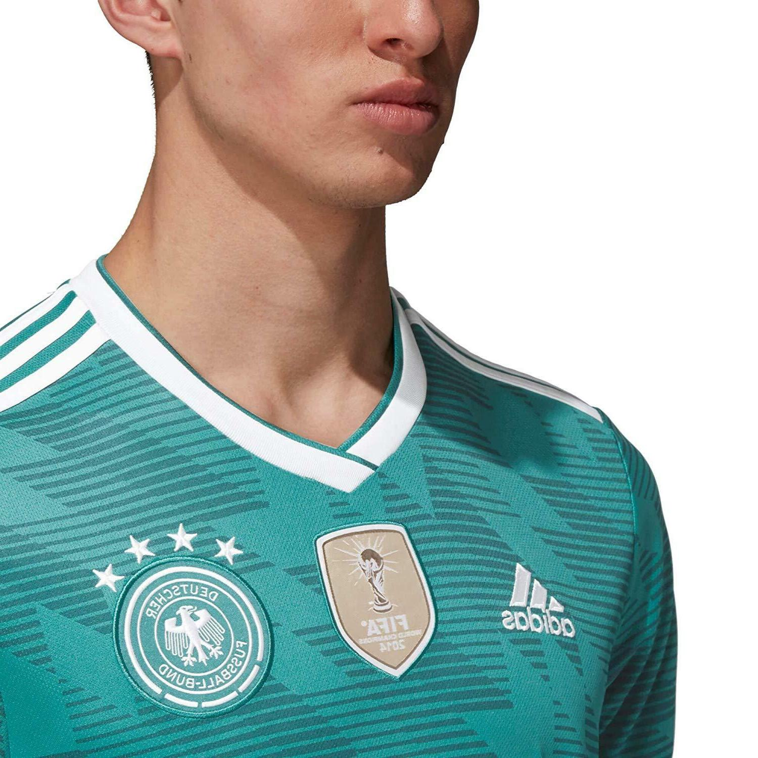ADIDAS OFFICIAL GERMANY AWAY FAN T-SHIRT