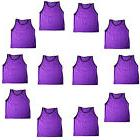 PURPLE SCRIMMAGE VESTS PINNIES Soccer, Softball, Track & Fi