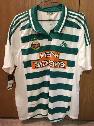 Adidas Rapid Wien Soccer Jersey World Cup New NWT 2XL Rapid
