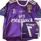 Real Madrid Final Cardiff 2017 Football Soccer Shirt Jersey
